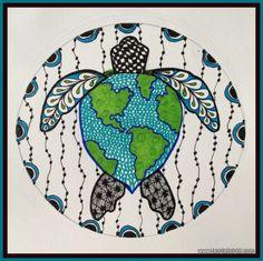 Sea Turtle/World #turtle #turtles #tortoise
