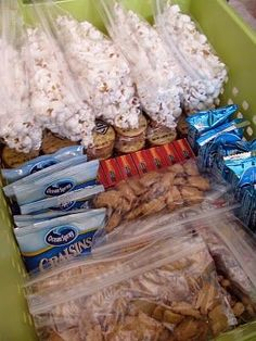 Organizing a snack basket, with proper portions all ready to go. Love all her ideas on this organizing blog