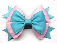 Pink mint bow Mint pink hair bow Girl pink hairbow Pink baby Little girl hair bow For baby hair clip large bow Pink big bow Pink for girls Pink Hair Bows, Baby Hair Bows, Ribbon Hair, Ribbon Bows, Ribbons, Barrettes, Hairbows, Hair Bow Tutorial, Baby Hair Clips