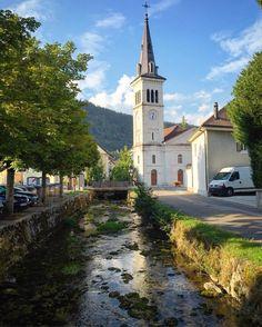 #river #church #fleurier #valdetravers #neuchâtel #switzerland