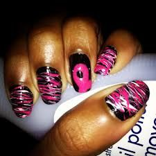 breast cancer nails - Google Search