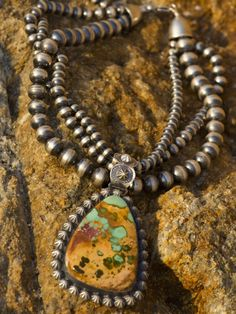 Love the colors of the turquoise as well as the look with the oxidized silver.