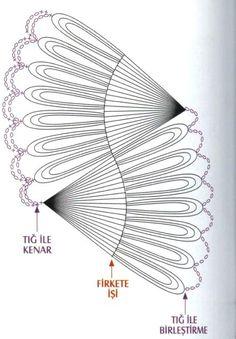 Воздушные палантины, связанные на вилке