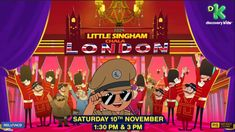 Take a look at our new & amazing Official Motion Poster of the upcoming blockbuster movie 'Little Singham Chala London', where and his. Motion Poster, Game Happy, Best Android Games, Blockbuster Movies, Queen Of England, Kids Shows, Diwali, Forget, Journey