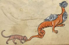 "Detail from ""The Rutland Psalter"", medieval (c1260), British Library Add MS 62925. f 74r"