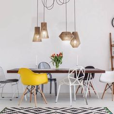 OLE by FM Pop-Up pendant lamp. Let your imagination fly, you can choose the number of pendants and combine. Outdoor Pendant Lighting, Industrial Style Lighting, Home Lighting, Hanging Light Fixtures, Pendant Light Fixtures, Pendant Lamp, Pendant Light Fitting, Recessed Spotlights, Mirror With Led Lights