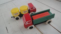 Vintage Brio Truck Tanker Texaco Log Lumber by CraftySara on Etsy