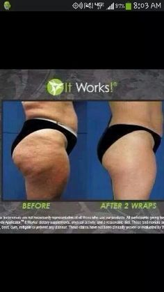 It works Body Wraps! call/text 520-840-8770  Results after 2 wraps! http://bodycontouringwrapsonline.com/wholesale