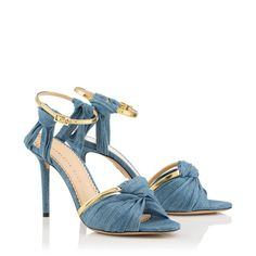 Dress from the feet up! This is what I've got my eye on from Charlotte Olympia Designer Sandals, Light Denim, Charlotte Olympia, Shop Now, Shopping, Shoes, Concept, Eye, Women