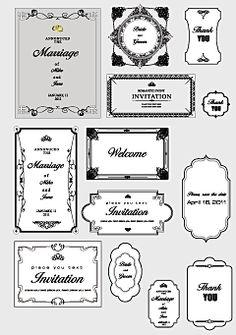 飾りフレーム・エレガントな飾り枠素材・ファイル4                                                       …
