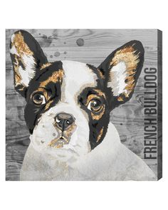 """Spotted this """"Love My French Bulldog"""" by The Oliver Gal Artist Co. on Rue La La. Shop (quickly!)."""