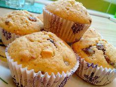 Kókuszos-csokis muffin Muffin, Breakfast, Food, Morning Coffee, Essen, Muffins, Meals, Cupcakes, Yemek