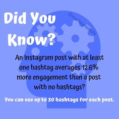 How many hashtags you should use is debatable but they are necessary for increasing engagement☝🏾Make sure they're related to the message you're conveying👍🏾 Marketing Plan, Online Marketing, Social Media Marketing, Digital Marketing, Marketing Consultant, Hashtags, Entrepreneur, At Least, Success