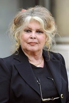 Bardot faced French judges five times for 'incitement to racial hatred' between 1997 and 2008 often as aresult of her opposition to what she sees as the inherent cruelty of the halal process in killing animals. On the last occasion she received a €15,000 fine. Her health stopped her from appearing in 2008 and this photo, taken in 2007, is one of the last as she now lives as a recluse