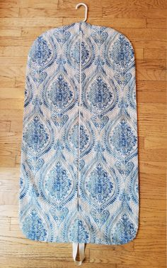 Hanging Garment Bag, Turquoise Blue Medallion Garment Bag, Weekender by CarryItWell on Etsy Rebecca Brown, Etsy Cards, Shades Of Turquoise, Garment Bags, Dog Show, Grosgrain Ribbon, Bridesmaid Gifts, Zip Ups, Great Gifts