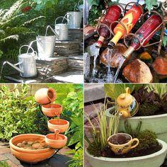 10 Waterfall Fountain Ideas to Adorn Your Garden - http://www.amazinginteriordesign.com/10-waterfall-fountain-ideas-to-adorn-your-garden/