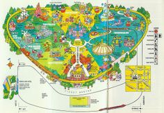 A scan of the 1981 Disneyland Park Map which was compliments of Polaroid. Disney Map, Disneyland Map, Retro Disney, Disneyland Secrets, Vintage Disneyland, Old Disney, Disneyland Resort, Disney Love, Disney Parks