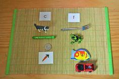 Montessori style sound game.