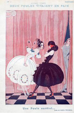 Gerda Wegener 1922 Women in Costume Dispute