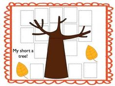 Fall Fun with Short a Words!  There are 4 great literacy stations using short a (cvc) words: Where is the Apple?, Roll, Say, Cover, My short a tree, and Mixed-up Fall sentences