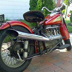 Indian garage vintage montana motorcycle
