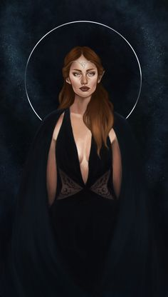 """starofvelaris: """"updated Feyre a bit :) I'm setting a goal for myself to finish the entire inner circle before ACOWAR release day so next up will be Rhysand, Azriel and Cassian! I've got three weeks, let's do this 😎 """""""