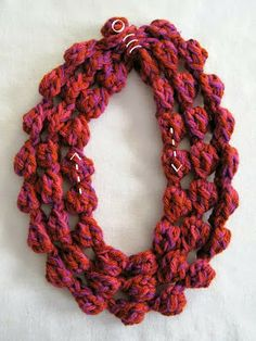 Mr. Micawber's Recipe for Happiness: Yarnberries ~ A Free Crochet Pattern