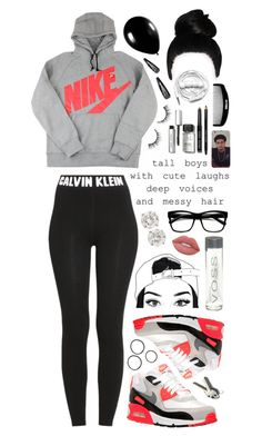 """Tall boys."" by dyciana ❤ liked on Polyvore featuring Alexander McQueen, Mikey, NIKE, Calvin Klein, H&M, Retrò, Lime Crime, Bobbi Brown Cosmetics, Urbanears and Forever 21"