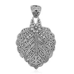 Bali Legacy Collection Sterling Silver Pendant without Chain (5.8 g) | pendants | jewelry | online-store | Shop LC