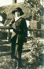 Rose Wilder Lane while traveling  in Europe