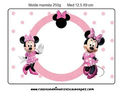Inspired in Minnie Mouse: Free Printables.