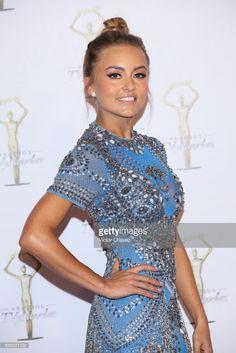 Angelique Boyer attends Premios Tv y Novelas 2017 at Televisa San Angel on March 26, 2017 in Mexico City, Mexico.