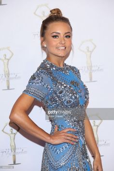 Angelique Boyer attends Premios Tv y Novelas 2017 at Televisa San Angel on March 26, 2017 in Mexico City, Mexico.