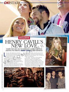 Henry Cavill & Tara King- OK! Magazine
