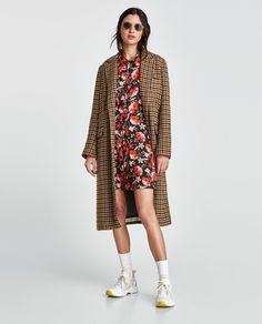 ZARA - WOMAN - FLORAL MINI DRESS