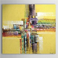 Hand Painted Oil Painting Abstract 1305-AB0554