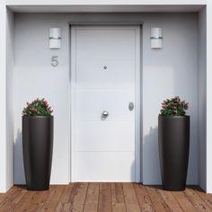 Apuesta Por Una #puerta De Líneas Depuradas Para Una #entrada De #estilo #
