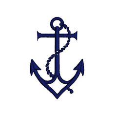 70%OFF ANCHOR NAVY Blue Nautical Machine by zebrakingstitches