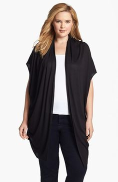 Draped Cardigan #plus #size