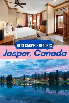 There's a cozy cabin for everyone in Jasper National Park. This gem of Canada's National Park system has more cabins, lodges and separate-entry hotels than any other mountain resort town in Canada. Jasper l Jasper National Park l Jasper Alberta l Jasper Canada l Jasper Hotels l Canada l CanadaTravel l National Parks Road Trip l National Parks Canada l Things To Do in Jasper l Jasper Summer Rockies l Rockies Canada