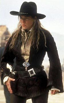 Sharon Stone as Ellen; The Lady in the 1995 western: The Quick and the Dead.