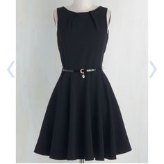 *Super Tuesday Sale* Luck Be A Lady Dress in Black New with tags! This is such an Audrey Hepburn dress--would look dazzling with pearls. Check out MC for sizing for the Luck Be A Lady dress. Labeled a UK 8, similar to a size XS, some stretch. No trades, please! ModCloth Dresses