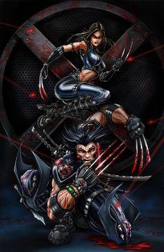 X-Force Wolverine X23 by jamietyndall.deviantart.com on @deviantART