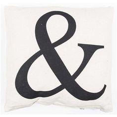 """Light up your home with natural beauty. This adorable Ampersand Burlap Pillow is the perfect decorative pillow for your home. With corresponding Mr. and Mrs. Burlap Pillows (sold separately), this pillow will bring character and charm to any room.    Featuring elegant black script against a soft burlap cover, this pillow will match nearly any color scheme and decor theme.    Dimensions:      Length: 15""""    Width: 16"""""""