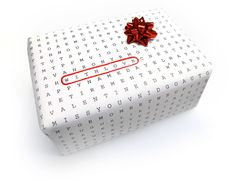 possibly the most adorable and clever wrapping paper EVER!