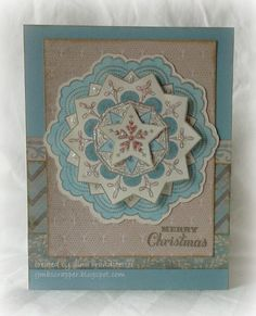 Gina's Little Corner of StampinHeaven: Sneak Peek - Frosted Cricut Christmas Ideas, Create Christmas Cards, Xmas Cards, Holiday Cards, Gift Cards, Merry Christmas, Heart Projects, Little Corner, Cricut Cards