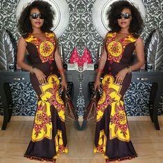 Lovely Ankara Gown Design for Ladies http://www.dezangozone.com/2016/08/lovely-ankara-gown-design-for-ladies_29.html