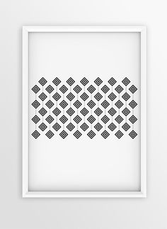 Art Print Design for Walls | AFRICAN PATTERN