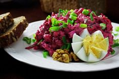 Výborný cviklový šalát | Pečené-varené.sk Cobb Salad, Beef, Fit, Meat, Shape, Steak