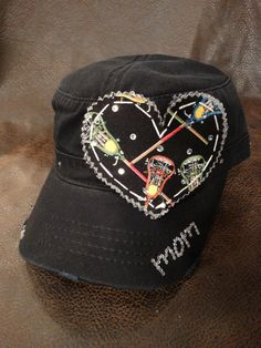 Love LAX Lacrosse mom cadet cap by BlingirlSpirit on Etsy https://www.etsy.com/listing/167338227/love-lax-lacrosse-mom-cadet-cap